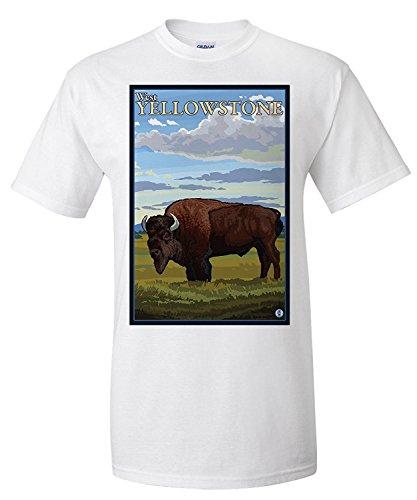 bison-scene-west-yellowstone-montana-premium-t-shirt