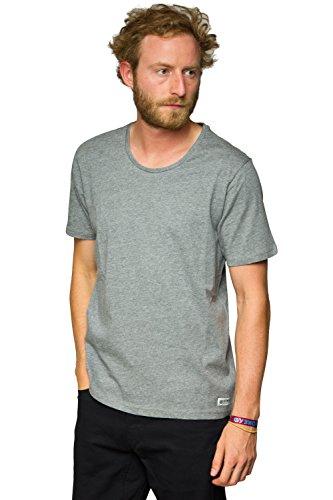 Element Open Neck Crew T-Shirt Grau
