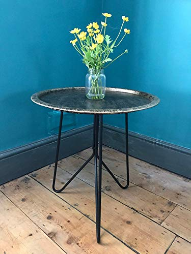 Steel Magnolias Métal Circulaire Table - M