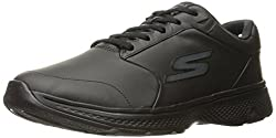Skechers Performance Mens Go 4-54161 Walking Shoe, Black, 9. 5 M US