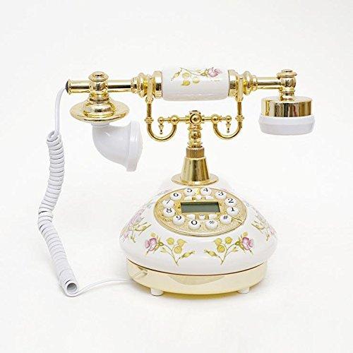HYY@ OfficeProducts@ Antiken europäischen Stil Telefon Festnetz Telefon Festnetz Mode Mini keramische Werkstoffe