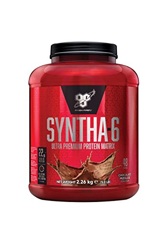 BSN Syntha 6 Proteína en Polvo, Chocolate- 2.27 kg