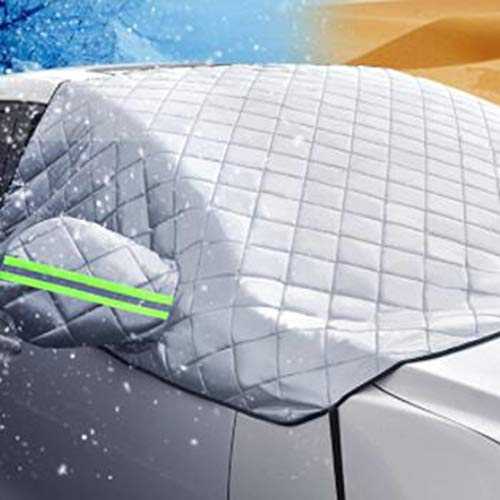 Car-Styling Autoplanen Windschutzscheibenabdeckung Hitze Sonnenschutz Anti Schnee Frost Eisschild Staubschutz Winter