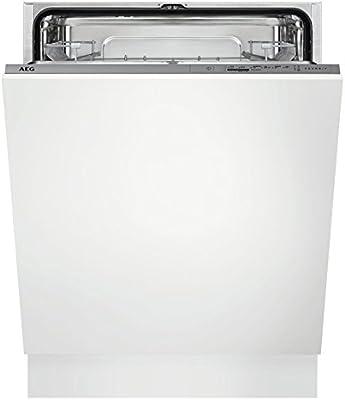 AEG FSB31600Z Totalmente integrado 13cubiertos A+ lavavajilla - Lavavajillas (Totalmente integrado, Tamaño completo (60 cm), Gris, Botones, LED, Frío)