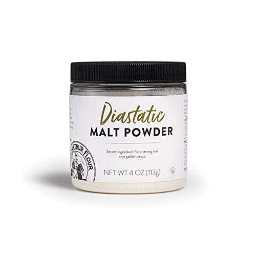 King Arthur Flour Diastatic Malt Powder - 113g - 4 oz