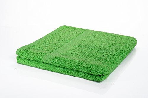 Etérea Handtuch Frotteeserie - Duschtuch in Apfelgrün, schwere und flauschige 500 g/m² Qualität,...