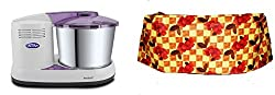 Elgi Ultra Perfect+ 2-Litre Wet Grinder (Purple) + Free Rhisas Wet Grinder Cover (Design may vary)