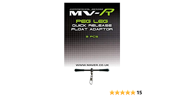 Maver 2 x 3pk Match this Peg Leg Float Adaptors Fishing tackle