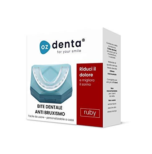 Bite dentale notturno automodellante anti bruxismo, apparecchio digrignare i denti e disturbi dell' atm