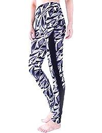 4602af4d073f Laisla fashion Pantaloni da Yoga A Vita Alta Pantaloni Sportivi da  Allenamento Classiche A Vita Bassa