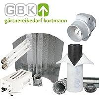 Set per coltivazione, sistema climatizzazione, ventilatore e filtro 300m³/h, 2 lampadine NDL, riflettore, ballast ProGear 400 W