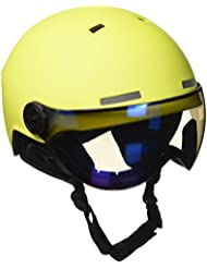 Black Crevice Skihelm - Casco de esquí, color Amarillo/Azul (Yellow/Blue), talla S/M (54-57 cm)