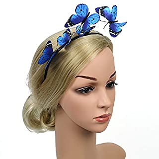 Aniwon Party Stirnband schöne Exquisite Schmetterling Haarband Party Headpiece Stirnband Damen Frauen
