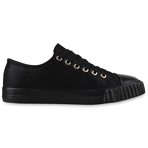 napoli-fashion , Sneakers Basses femme Schwarz Zip