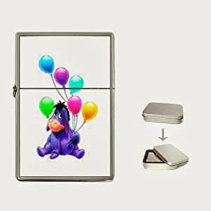 Winnie the Pooh Eeyore 2 Flip Top Lighter and Case Box