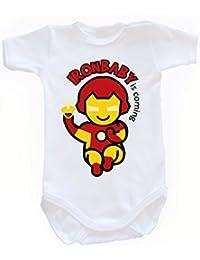 The Punisher Marvel Comic Film Movie Strampler Baby Kurzarm Body Bio Baumwolle