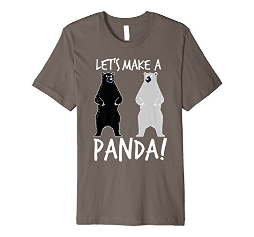 (Let's Make A Panda Shirt | Cool In Love Bears T-shirt Gift)