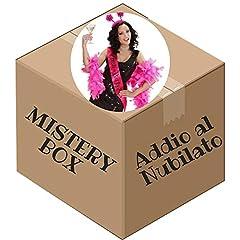 Idea Regalo - Varie Mistery Box Scatola a sopresa Oggetti Addio al Nubilato Sposa e Amiche 14 pezzi
