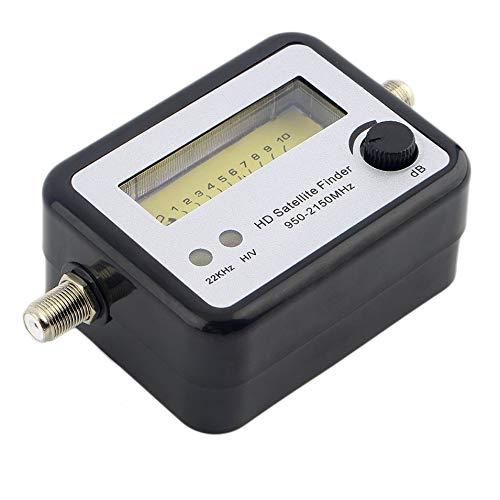 HermosaUKnight Misuratore di Segnale Digitale satellitare Finder Compass FTA TV Signal Receiver & Finder-