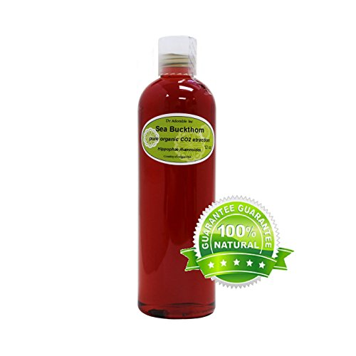 Sea Buckthorn Carrier Oil (Co2 Extracted) 100% Pure 12 Oz