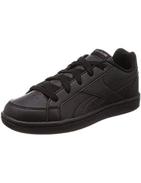 Reebok Royal Prime, Zapatillas de Gimnasia Unisex Niños, Negro Black/Ash Grey, 35 EU