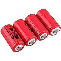 High Capacity 3.7V 2800mAh 16340 Battery Large Capacity Rechargeable Li-ion Battery for LED Flashlight