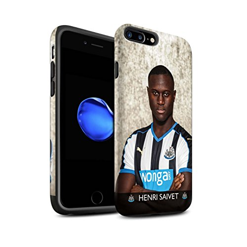 Offiziell Newcastle United FC Hülle / Matte Harten Stoßfest Case für Apple iPhone 7 Plus / Ayoze Muster / NUFC Fussballspieler 15/16 Kollektion Saivet