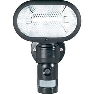 Caméra de surveillance avec projecteur et détecteur