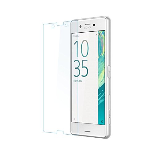 ECENCE 1x Panzerfolie 3D Touch Schutzglas Echt Glas kompatibel für Sony Xperia X Performance 0.33mm dick 9H Tempered Glass 14010107