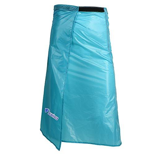 Lixada Ultra Light Dünner Regenrock Wasserdichte Kilt Regenhose Packable Windschutz Kilt Rock