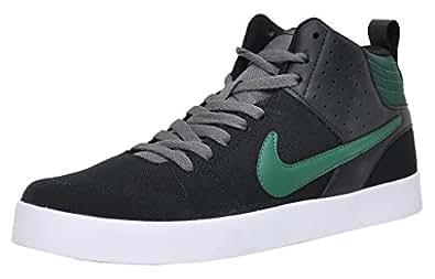 Nike Men's Black Mesh Liteforce Iii Mid Sneaker - 10