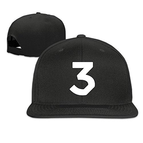 Hittings Chance The Rapper 3 Adjustable Flat Brim Hat -8 Colors (Hat Rapper)