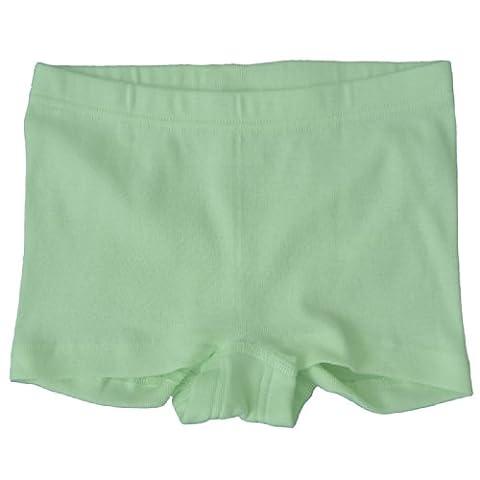 HERMKO 2710 Mädchen-Pant Panty aus 100% EU Baumwolle, Girl Unterhose Hose europäische Produktion, Größe:140, Farbe:limone