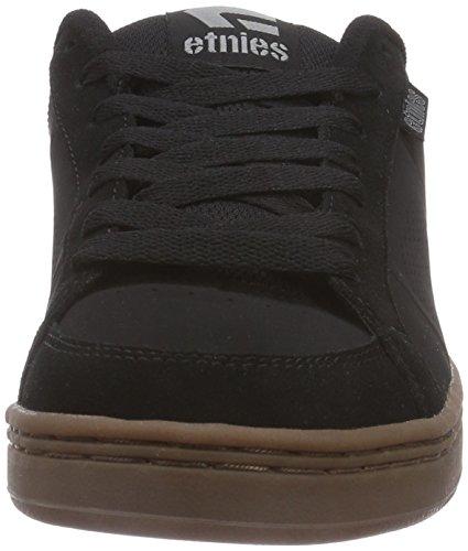 EtniesKingpin - Scarpe da Skateboard Uomo, Null, NULL Nero (Black/Gum)