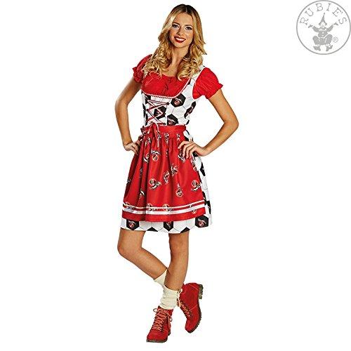 Rubies 380308 DAMEN Kostüm * 1. FC Köln Dirndl * Oktoberfest,Tracht, Fan * Wiesn (40)