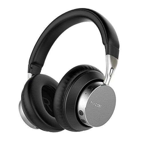 Scharfe Kopfhörer Cancelling Noise (Bluetooth Kopfhörer 4.2 over Ear Mixcder MS301 kabellose Kopfhörer mit AptX und 24 Stunden Spielzeit, geeignet für iPhoneX und Android Smartphones, PC, Tablet und Heim Stereo System)