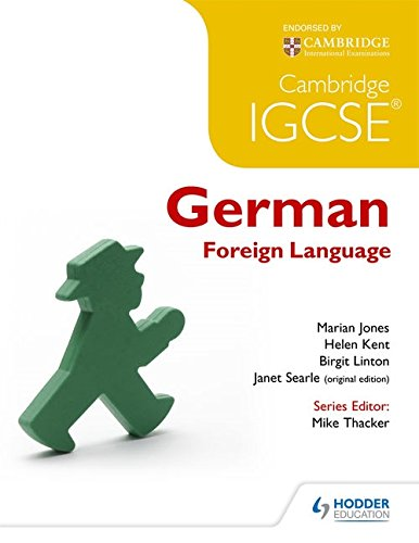 Cambridge IGCSE® german foreign language. Per le Scuole superiori