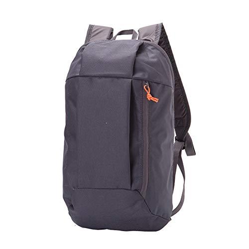 Faderr Wanderrucksack Kleiner Outdoor Rucksack Mehrzweck-Tagesrucksack Kleiner Wanderrucksack Mini Büchertaschen 10L für Erwachsene und Jugendliche, Schwarz, Free Size