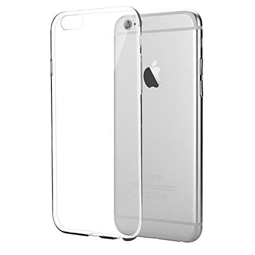 iPhone 6S Hülle, Bingsale Ultra Slim TPU Case iPhone 6S Silikon Schutzhülle (transparent, iPhone 6S)