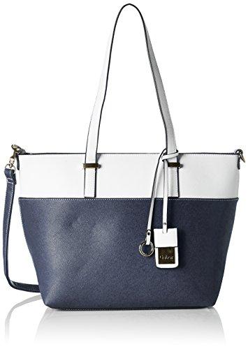 Gabor Damen Tivoli Tote, Blau (Blau), 14x27x42 cm (Damen Zubehör Handtasche Blaue)