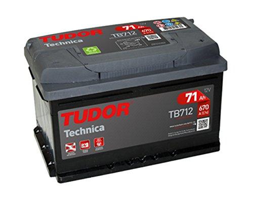 Batteria Tudor 71Ah 670A Tech