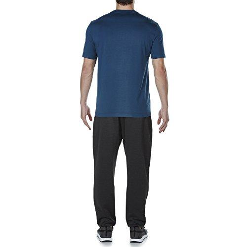 Canterbury, pantaloni lunghi in pile con elastico. Vanta Black Marl