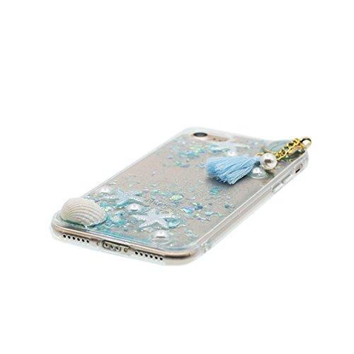 iPhone 6 Custodia, iPhone 6s Copertura Premium TPU Prezzo basso trasparente al silicone in iPhone 6S case [Slim-Fit] [assorbimento di scossa] - stelle # 9