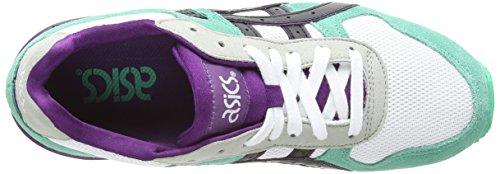 Asics GT-II, Scarpe sportive, Unisex-adulto White/Black 190