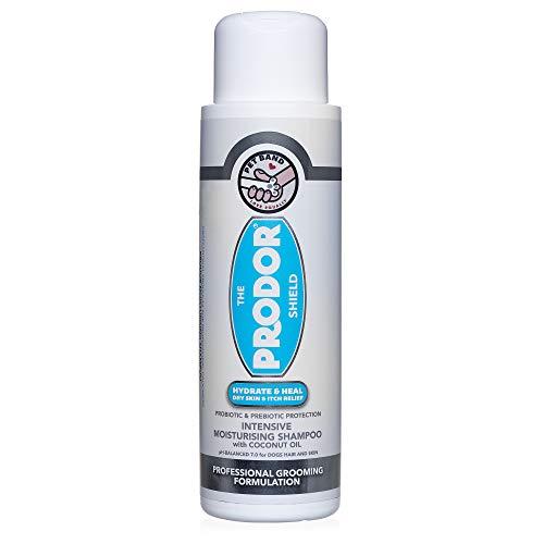 PRODOR Prebiotic Anti Itch Shampoo - für Hunde mit trockenen Haut und empfindlicher Haut | A Natural Haferflocken Bath | Hund Probiotika Befeuchten, Clean & Zustand Haar, hypoallergen 16 Unzen