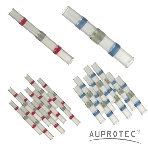75 Lötverbinder Sortiment Set Auswahl: (25 rot / 50 blau)