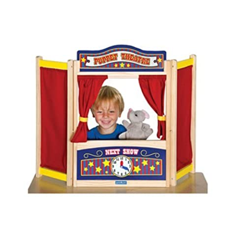 Tabletop Puppet Theater by Guidecraft TOY (English Manual)
