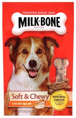 Artikelbild: Milk-Bone Soft & Chewy Real Chicken Recipe Vitamins Minerals Dogs Treats 5.6oz