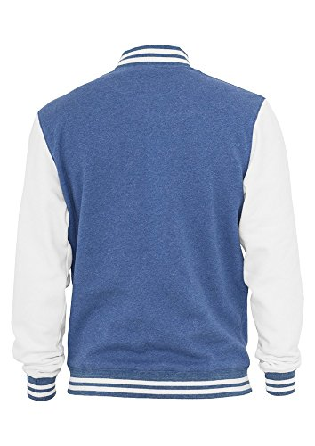 TB423 Melange College Sweatjacket Herren Fleece Jacke - 2