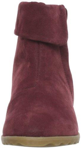 Blowfish Script Wedge Ankle BF3202 AU13 Damen Stiefel Rot (wine fawn PU BF338)